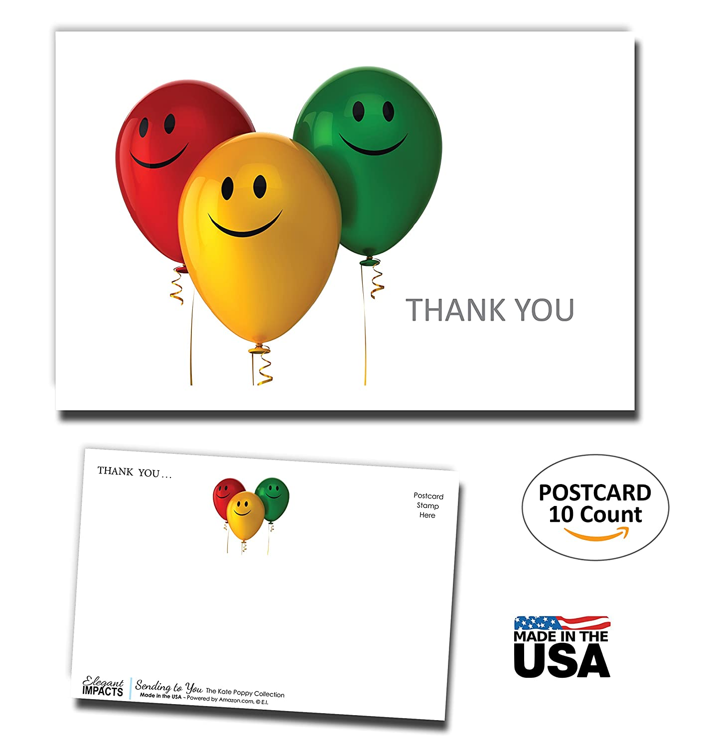 Amazon Thank You Postcards 10 Pack