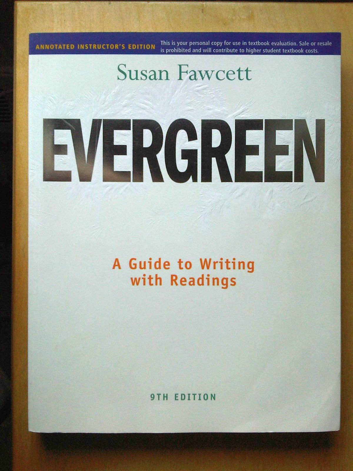 EVERGREEN 9TH EDITION EBOOK DOWNLOAD