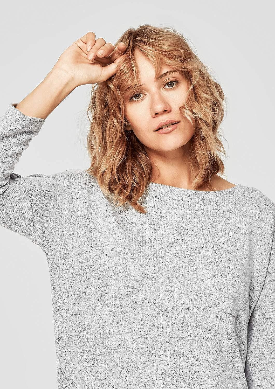 s.Oliver Damen Sweatshirt Grau (Grey Melange 94w0)