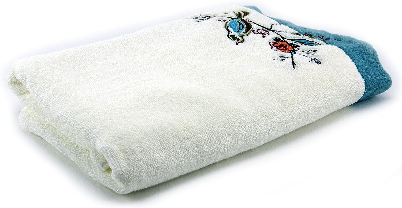 Lenox Chirp Embroidered Bath Towel, Multi