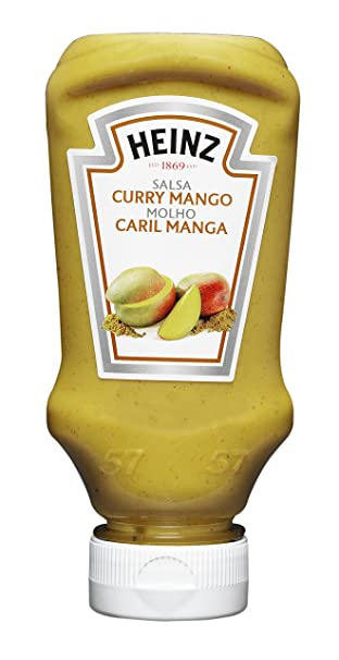 Heinz - Salsa, Curry Y Mango, 220 ml - [Pack de 8]