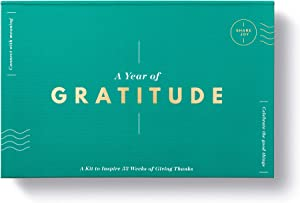 Compendium A Year of Gratitude: A Kit to Inspire 52 Weeks of Giving Thanks (10002)