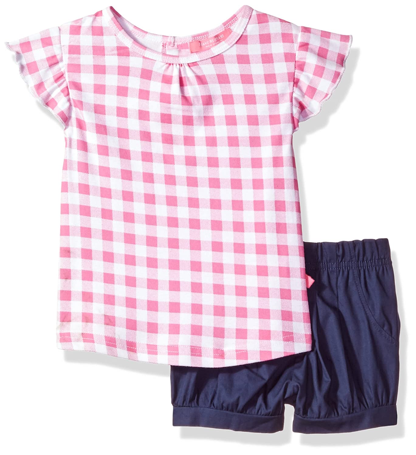 Isaac Mizrahi Baby Girls' 2 Piece Popover Shirt Set with Shorts Isaac Mizrahi Children' s Apparel IM_2PC_143_RS_S_G_INF