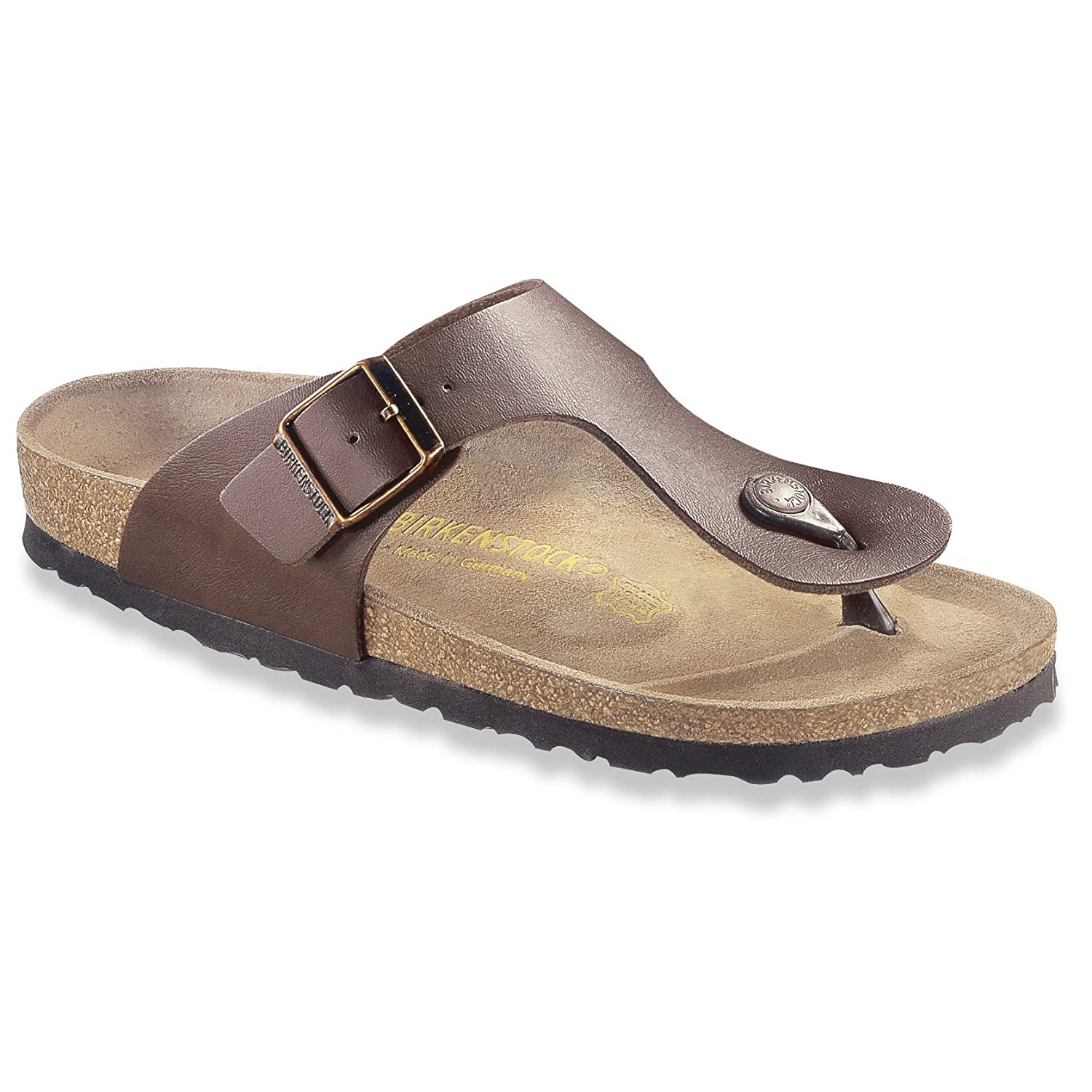 06376a910282 Birkenstock Ramses Mens Summer Sandal Brown 49  Amazon.co.uk  Shoes   Bags