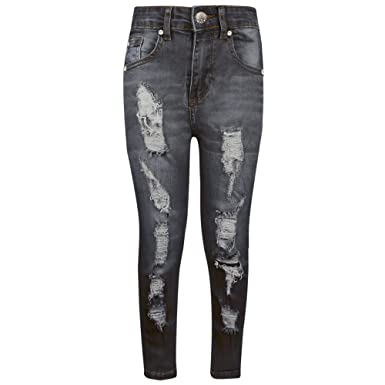 A2Z 4 KidsR Kids Stretchy Jeans Boys Jeggings Ripped Stylish Skinny Pants Fashion Trousers Age 5 6 7 8 9 10 11 12 13 Years Amazoncouk Clothing