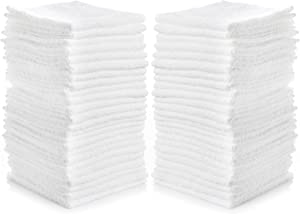 "Simpli-Magic 79078 Cotton Washcloths (Pack of 24), Size: 12"" x 12"""