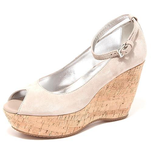 decollete HOGAN ZEPPA SPUNTATA H 200 scarpa donna shoes women 56927