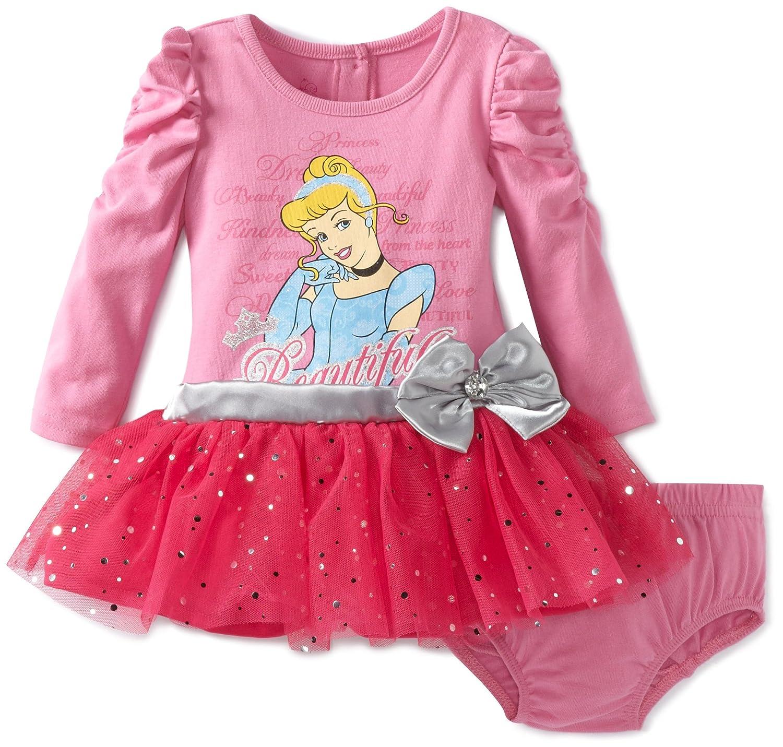 Amazon Disney Baby Girls 2 Piece Cinderella Dress Set Pink