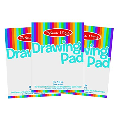 Melissa & Doug Drawing Paper Pad Bundle (3 Pack): Toys & Games