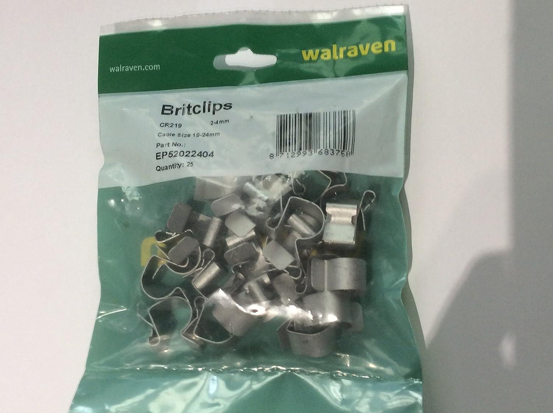 Girder cable run Clip CR219 19-24mm Cable - Girder clip small 25 per pack Walraven