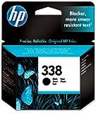 HP 338 Cartouche d'Encre Noir Authentique (C8765EE)