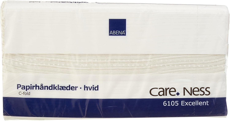 23 x 31 cm Abena Paper Towel C-Fold 2-Ply