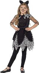 Smiffy s 44287S - Deluxe Midnight Cat Costume Nero con Abito da Coda e  Fascia Dell  3d96e9d2a082