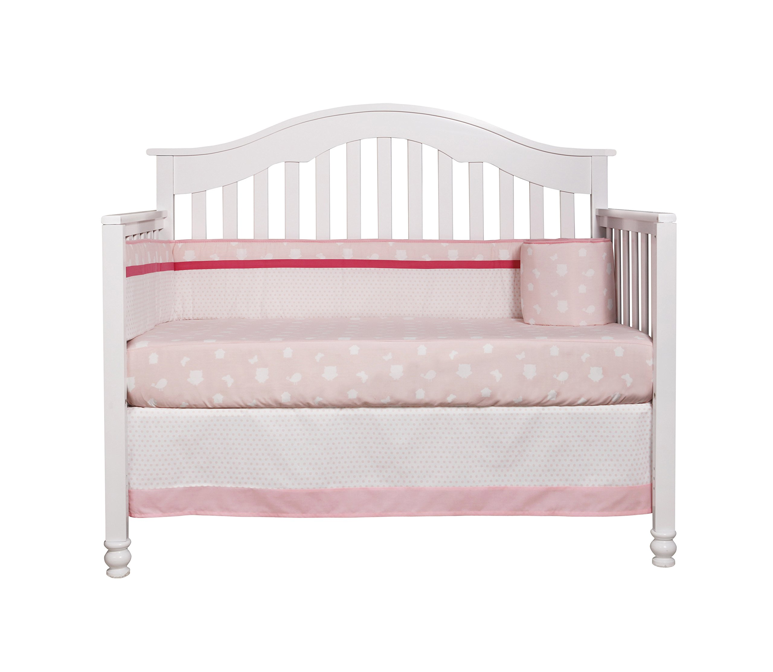 e404d29952702 GEENNY OptimaBaby Enchanted Owls Family 6 Piece Baby Girl Nursery Crib  Bedding Set