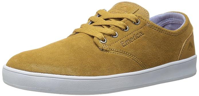 Emerica Laced Herren Sneakers Skateboardschuhe by Leo Romero Braun (Wildleder)