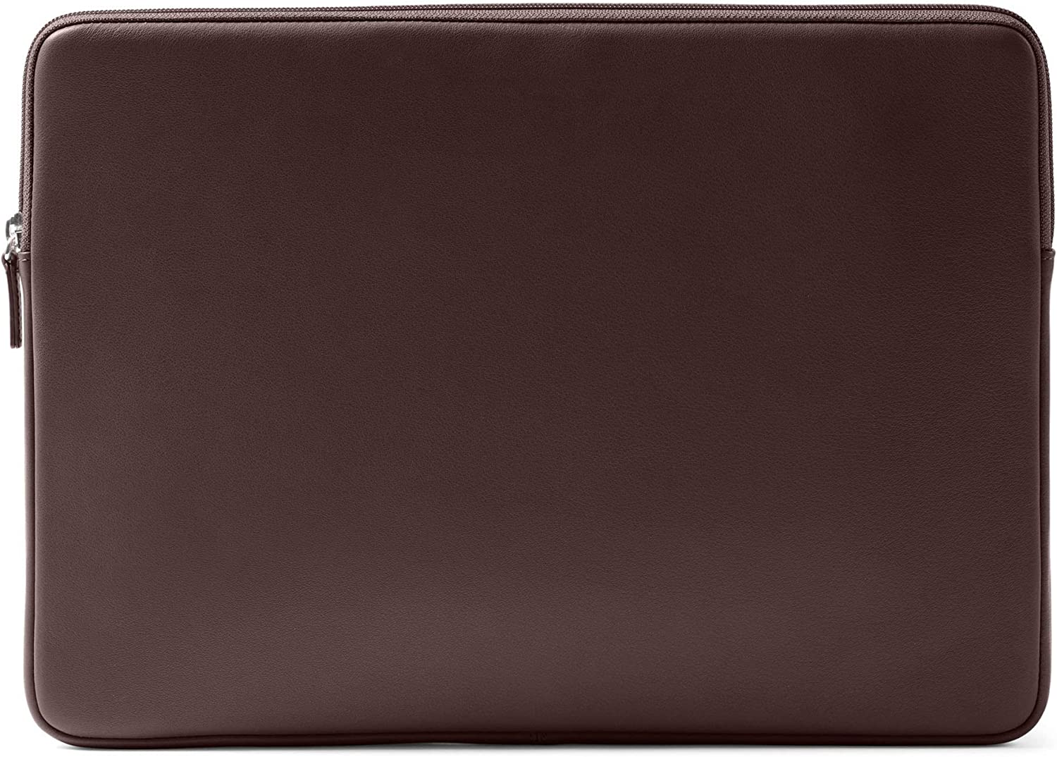 Leatherology Brown Laptop Sleeve Case Compatible with 15 Inch MacBook Pro