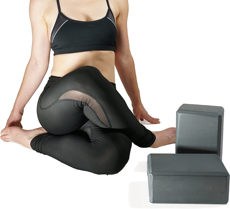 Amazon.com: Dimok - Juego de bloques de yoga y correa ...