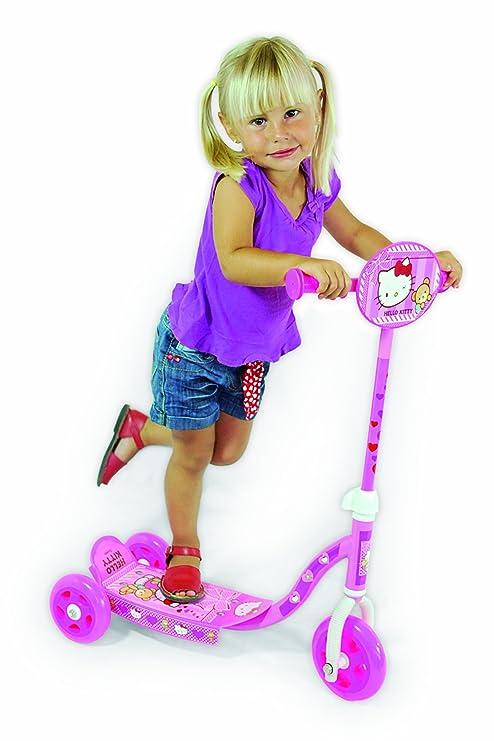 Hello Kitty - Patinete con 3 ruedas (Saica Toys 9326 ...
