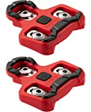 PRO BIKE TOOL Bike Cleats Compatible with Look KEO Pedals (7 Degree Float) for Clipless Men & Women Cycle Shoes - Bicycle Cleat Set for Indoor & Road Cycling