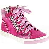 Richter Kinder Halbschuhe Sneaker pink Velourleder Mädchen-Schuhe 3148-731-3501 Fedora