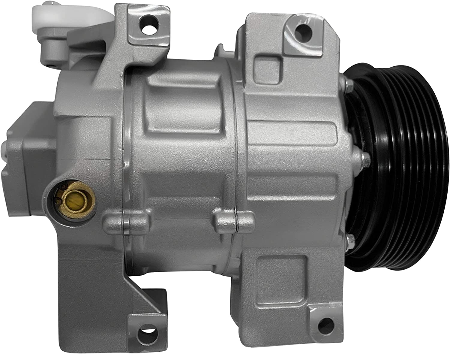 Air Conditioning RYC New AC Compressor and A/C Clutch FH664-01 ...