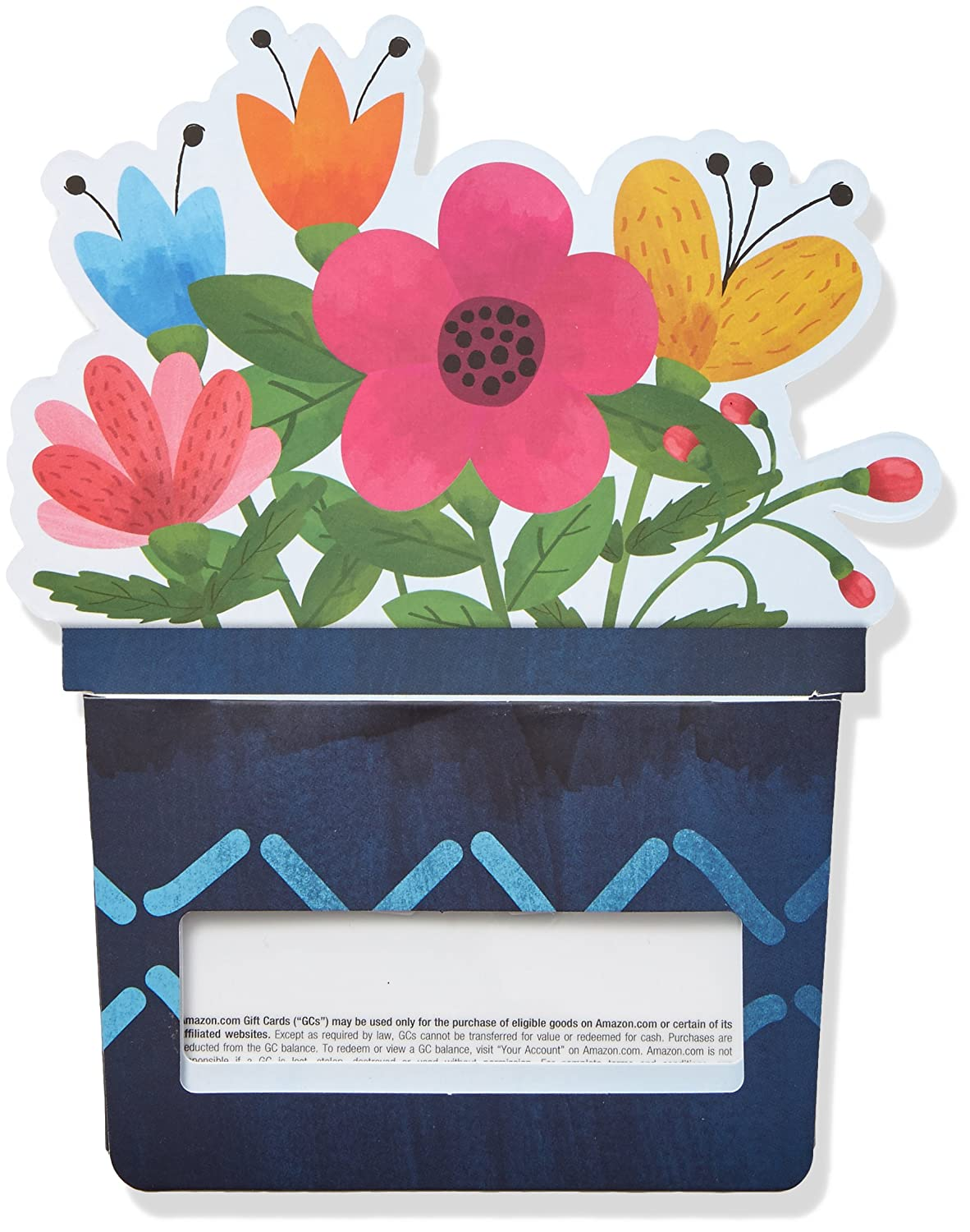 Amazon Amazon Gift Card In A Flower Pot Reveal Gift Cards