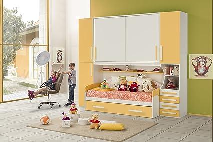 Camerette Per Bambini Nuovo Arredo.Nuovarredo Cameretta Ponte Aurora Amazon It Casa E Cucina