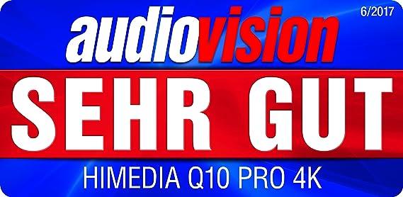 Himedia Q10 Pro 4k (Ultra HD) 3d Media Player Android 5 1 Smart TV Box Mini  PC 2GB/16GB Bluetooth 4 0 Dual Band WiFi with 3 5