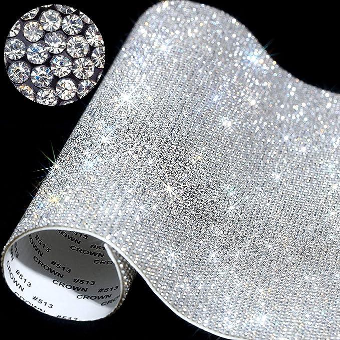 12000 Pieces Bling Bling Crystal Rhinestones Sticker Sticker | Self-Adhesive Glitter Rhinestones Crystal Gem
