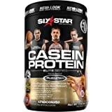 Six Star Elite Series Casein Protein Powder, Slow-Digesting Micellar Casein Protein for Extended Amino Acids Release…