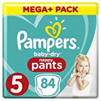 Pampers Baby Dry Pants with Air Ducts 84 (Size 5)