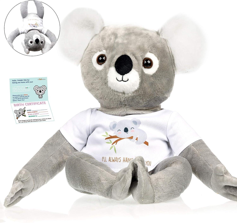 IP02 Australia Animal Kids Fun Cool Gift #15617 Lazy Koala Bear Keyring