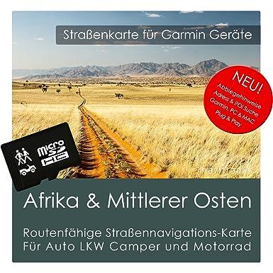 África & Medio Oriente tarjeta de GPS Garmin - 8 GB MicroSD ...