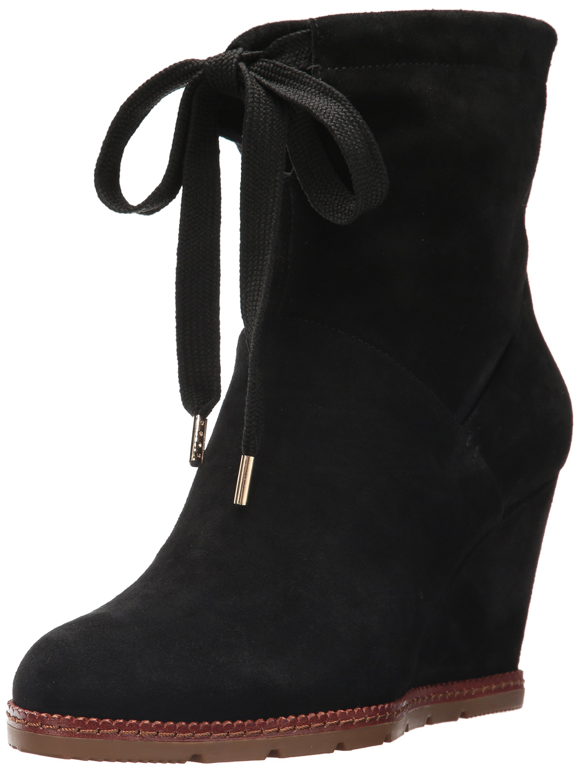kate spade new york Women's Saunders Fashion Boot, Black, 7.5 M US