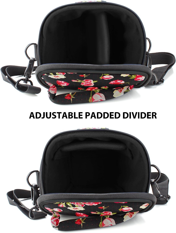 DSLR USA Gear Kameratasche f/ür Spiegelreflexkameras Colttasche mit Verstellbarem Schulterriemen Abnehmbarem Regenschutz und Wetterfesten Unterseite f/ür Optimalen Schutz Ihrer SLR Tarnung Gr/ün