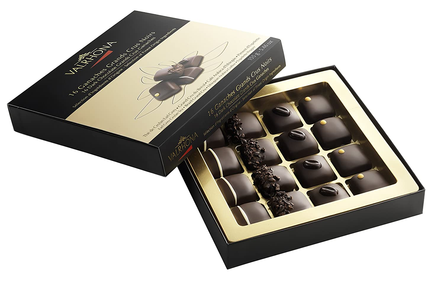 Valrhona - Amandes & Noisettes - Grand Cru Chocolat Lait - 50g (Case of 26)