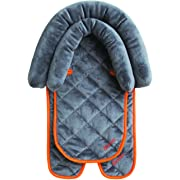 Diono 2-in-1 Head Support, For Children Up To 15 Pounds, Grey