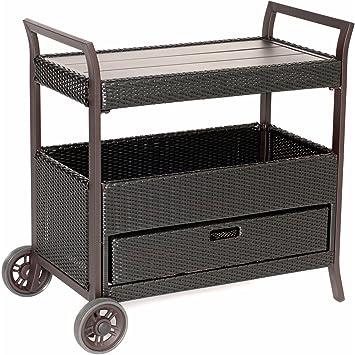 Hanover HAN BARCART Outdoor Bar Cart
