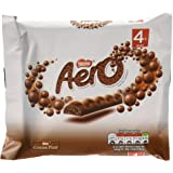 Original Aero Milk Chocolate Bubbly Bar 4 Pack Imported from The UK England