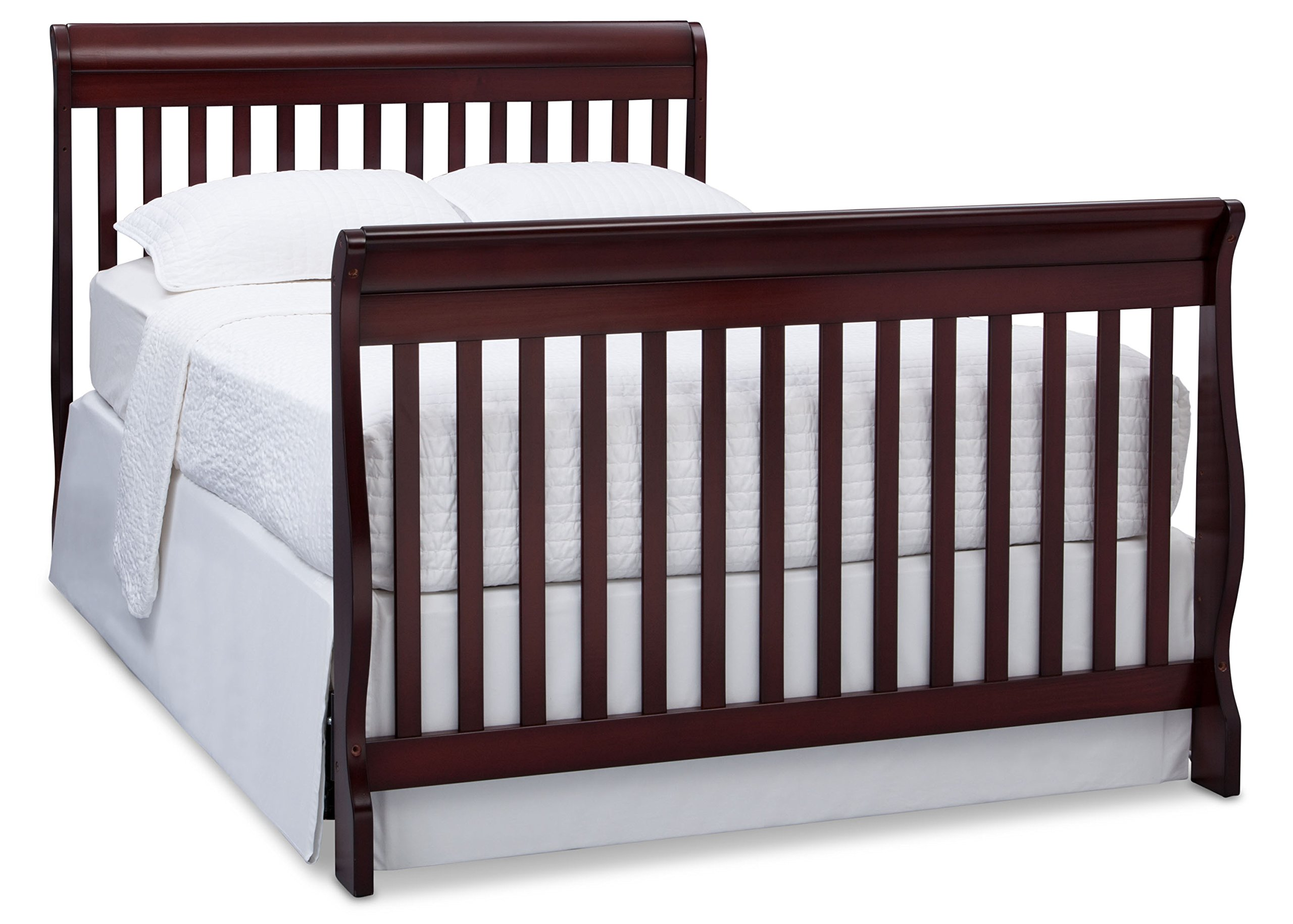 Delta Children Canton 4-in-1 Convertible Crib, Espresso Cherry by Delta Children (Image #7)