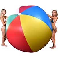 Deals on GoFloats 6-Foot Giant Inflatable Beach Ball