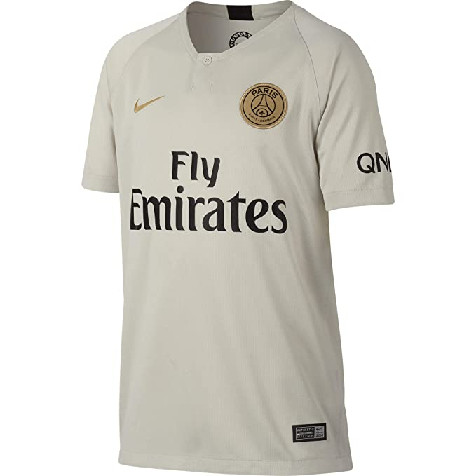 competitive price f9b2e 88eb3 Amazon.com: NIKE 2018-2019 PSG Away Shirt (Kids): Clothing
