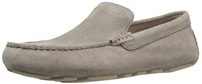 UGG Men's Henrick Slip-on Loafer, Dark Fawn, ...