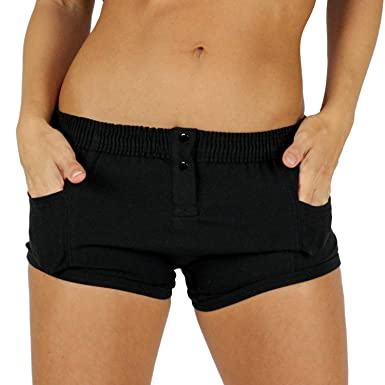 Foxers Tomboy Style Women s Boxer Briefs with Side Pockets  1cce2cfddb