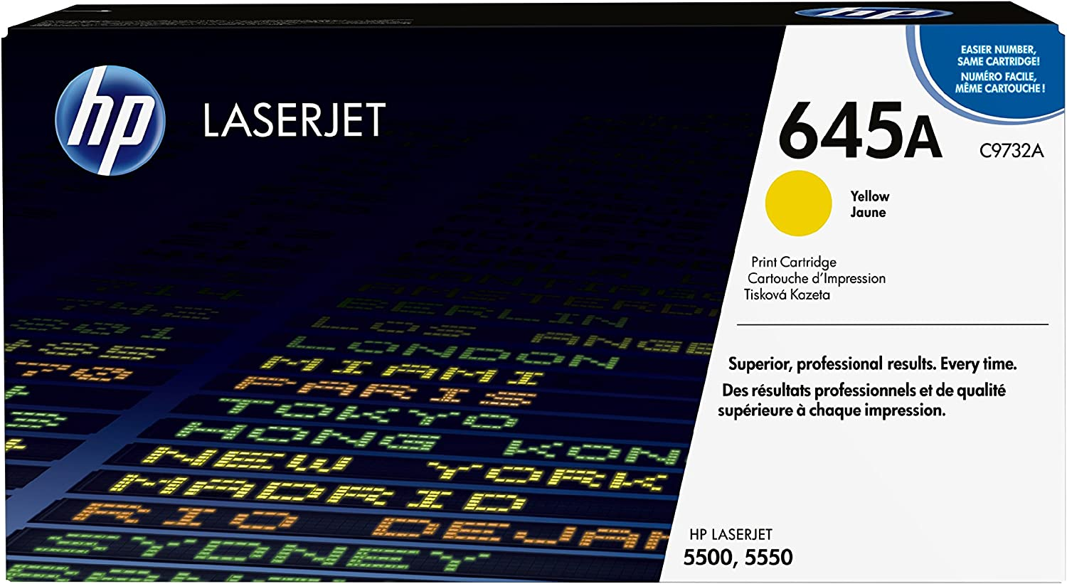 HP 645A | C9732A | Toner Cartridge | Yellow