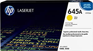 HP 645A   C9732A   Toner Cartridge   Yellow