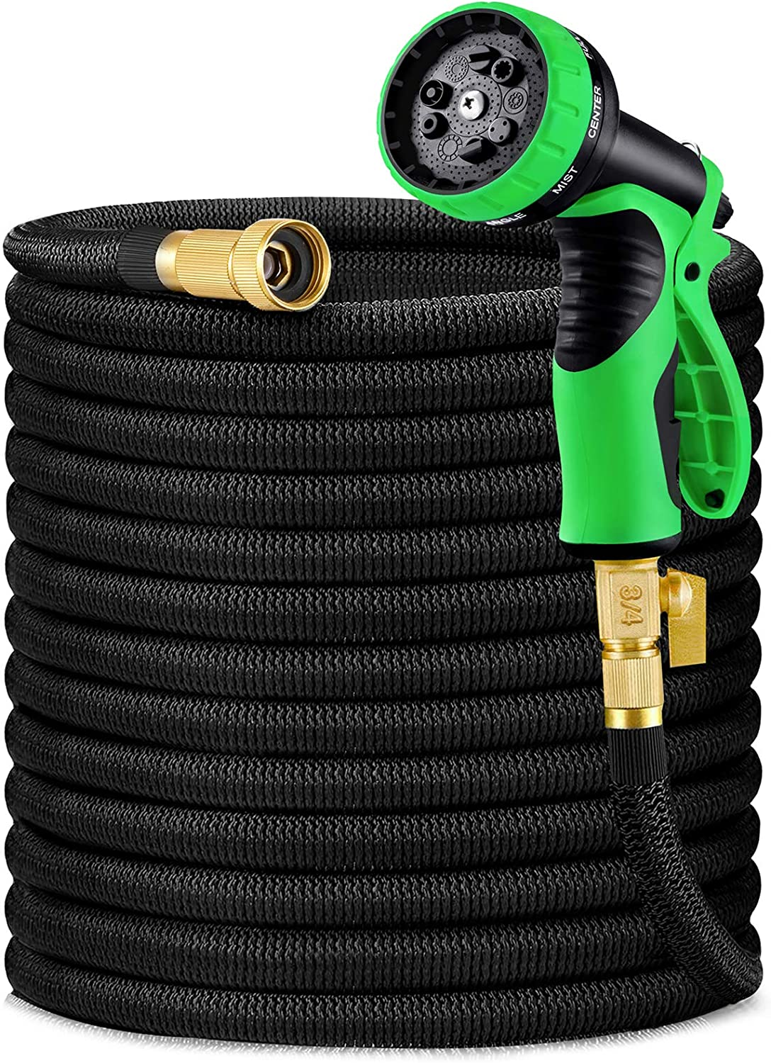 HBlife 100ft Garden Hose, Expandable Water Hose with 3/4