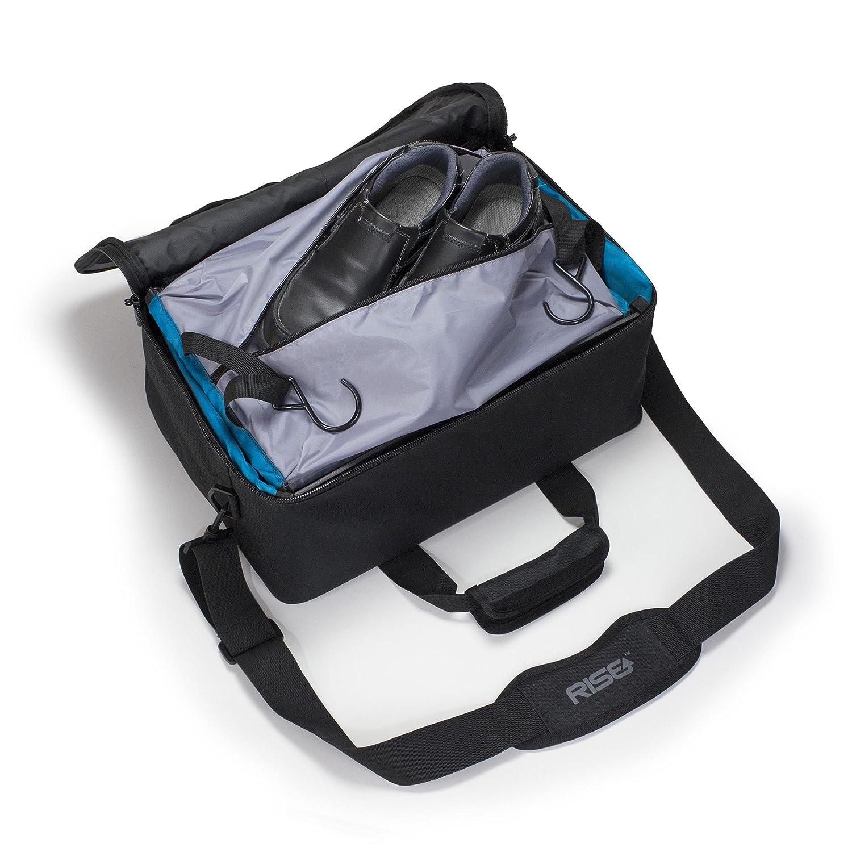 Amazon.com: Portable Shelving Luggage, Rise Gear Jumper, Blue ...