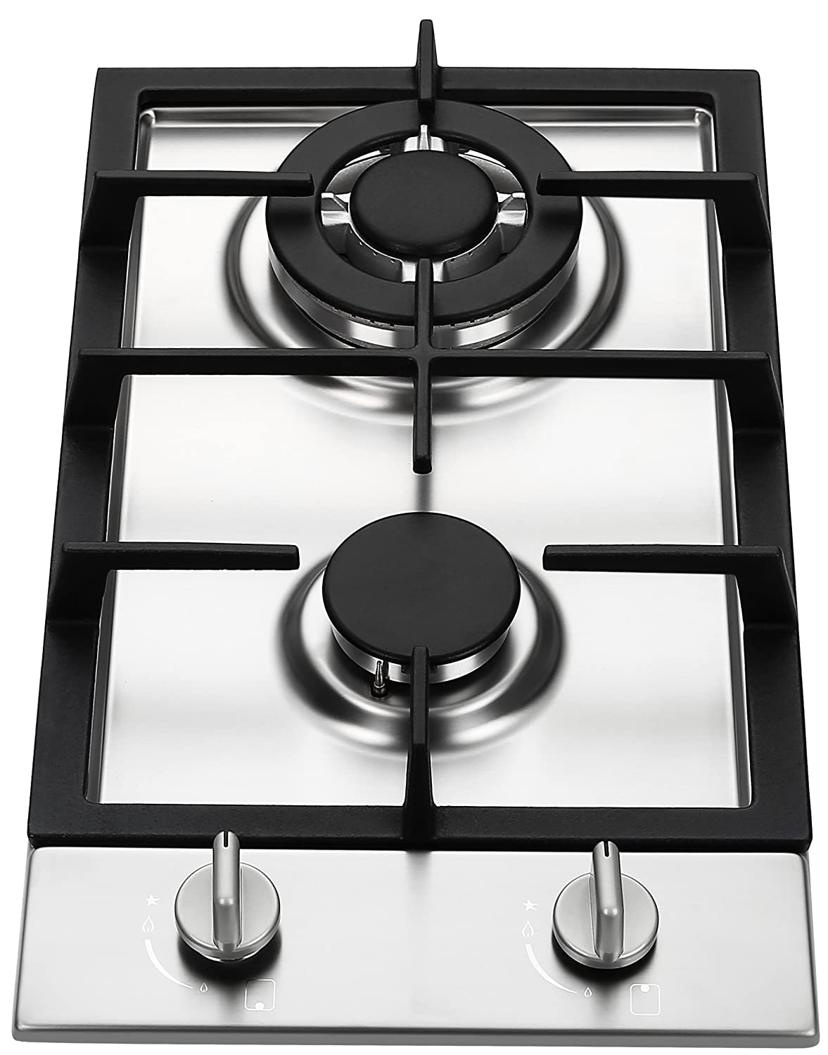 Ramblewood GC2-37P (LPG/Propane Gas) high efficiency 2 burner gas cooktop Ramblewood Green