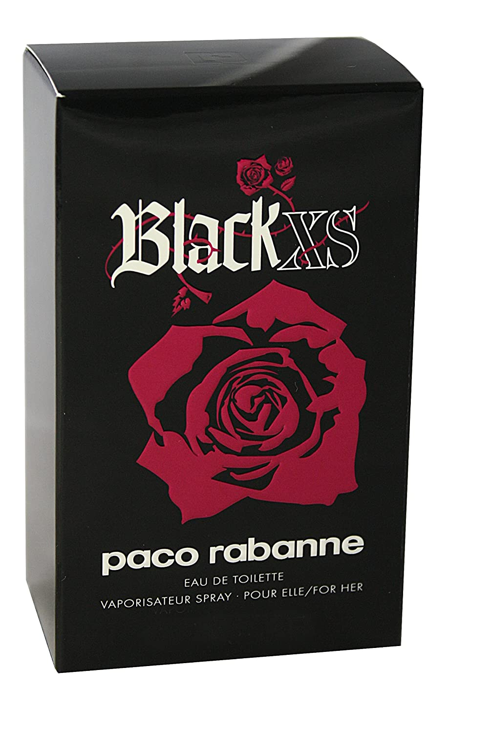 Paco Rabanne Black Xs For Her Eau de Toilette Vaporizador 80 ml: Amazon.es: Belleza